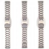 Stainless Steel Strap with Deployment Clasp Strap (three sizes) - S1